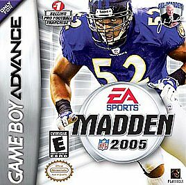 Madden NFL 2005 (Nintendo Game Boy Advance, 2004) Cartridge Only