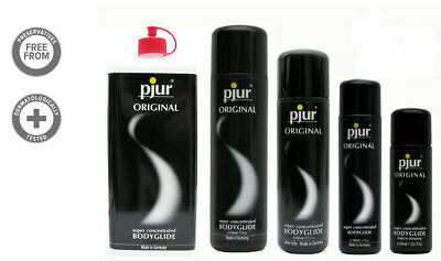 New Pjur Original Bodyglide Silky Silicone Lubricant Lube 1000 500 250 100 30 ml