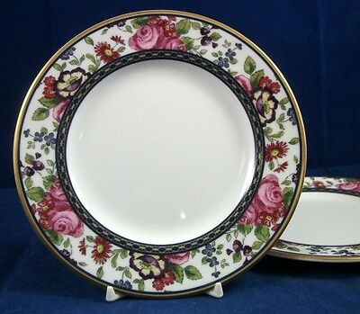 Royal Doulton CENTENNIAL ROSE 2 Bread & Butter Plates H5256 GREAT CONDITION