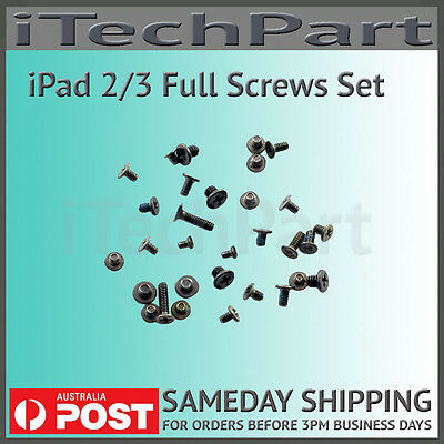 Full Screw Set Kit Screws Replacement For iPad 2 iPad 3