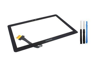 Samsung Galaxy Tab 2 Ii P5100 P5110 10.1 Touch Screen Black Replacement Fix Lens