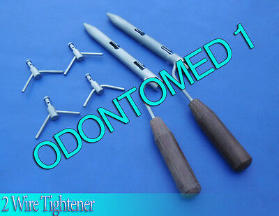 2 Wire Tightener Surgical Orthopedic Instruments new