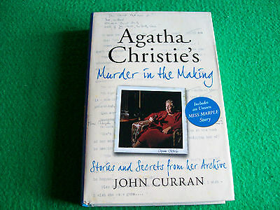 Agatha Christie's Murder in the Making : John Curran: New Hardback