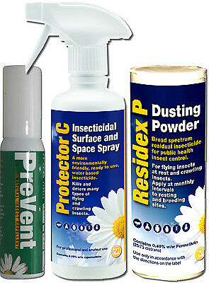Bed Bug Killer Kill Bed Bugs Spray Powder Treatment Insect Killer Home Use