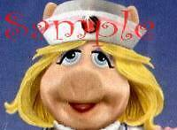 MISS PIGGY NURSE Photo Italian Charm lvn rn medical pig cna medicene dr