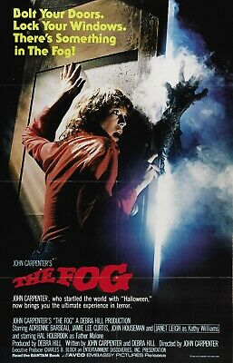 The Fog - Jamie Lee Curtis - John Carpenter - A4 Laminated Mini Poster
