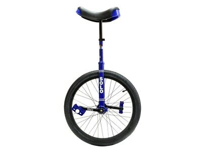 Unicycle 20 inch Expert Solo Blue By DRS - FREE SHIPPING