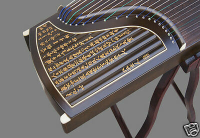 Professional Performing Carved Nanmu Wood Guzheng Instrument Chinese Zither
