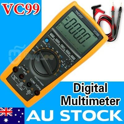 VC99 3 6/7 Auto Range Digital Multimeter resistance thermometer capacitance