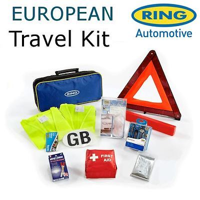 RCT1Ring European Euro Europe Continental Driving Abroad Approved Travel Kit Bag