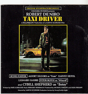 Taxi Driver-1976-Original Movie Soundtrack-18 Track-CD