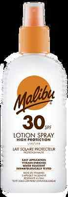 Malibu Sun Lotion Spray SPF 30 High Protection Water Resistant 200ml