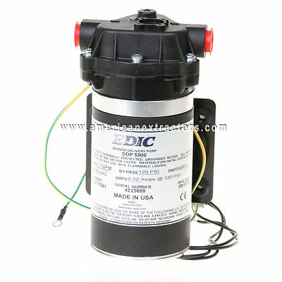 230 / 240 Volt Pump 120 psi EDIC Aquatec Carpet Extractor DDP 5800