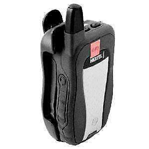 AMZER HOLSTER WITH 180° RATCHETING BELT CLIP FOR NEXTEL MOTOROLA i580-BLACK