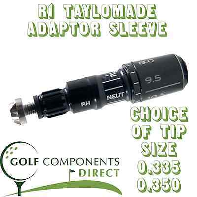 2013 R1 TaylorMade Adaptor/Sleeve + Ferrule .335 or .350 Tip for Drivers Woods