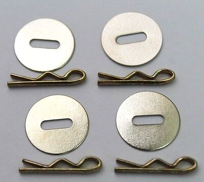 5/8 in Washers and mil-spec 3/4in Toggles for Uniform Jackets lot of 8 R9666