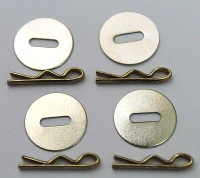Washers and Toggles for Uniform Jackets lot of 4  R9666