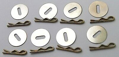 5/8 in Washers and mil-spec 3/4in Toggles for Uniform Jackets lot of 16 R9666