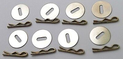 Washers and Toggles for Uniform Jackets lot of 8 R9666