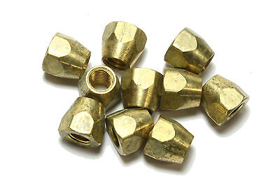 Brass Truss Rod Nut for Gibson guitars 10/32 threads Qty 10