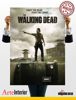 The Walking Dead - Stampa qualità fotografica - Maxi Poster fino a 70x100 - HQ