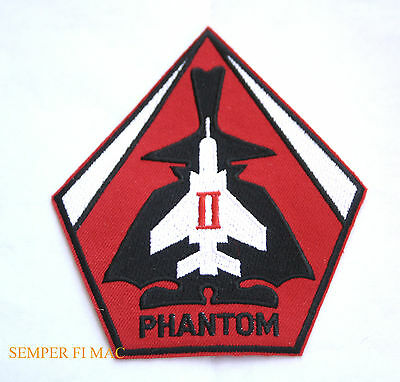 F-4 Phantom Ii Patch Bmac F-4 Pdm Spook Us Navy Marines Air Force Afb Mcas Uss
