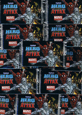 Hero Attax Topps / Trading Cards / 10 Tüten / Marvel / Neu OVP