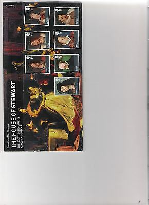 2010  Royal Mail Presentation Pack Kings & Queens House Of Stewart Including M/s