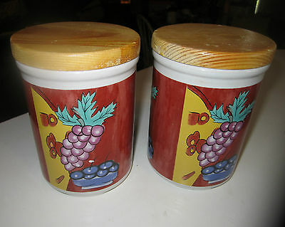 SET OF 2 CANISTERS