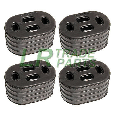 Land Rover Defender Discovery 1 & 2 Exhaust Hanging Mounting Rubbers X4, Esr3172