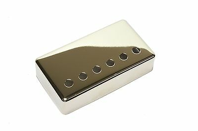 Humbucker Pickup cover Nickel plated nickel silver 50mm pole spacing