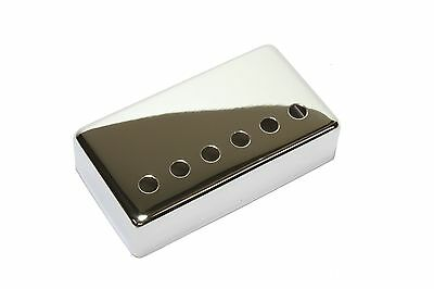 Humbucker Pickup cover Chrome plated nickel silver 50mm pole spacing