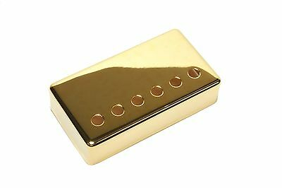 Humbucker Pickup cover Gold plated nickel silver 50mm pole spacing