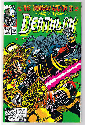 DEATHLOK #8 9 10 11 12, NM+, Cyborg, 1991, Ghost Rider, Biohazard, Machine