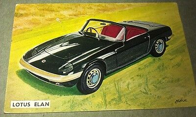 1963 LOTUS ELAN 1500 -  Sanitarium Weetbix New Zealand Swap Card - RARE