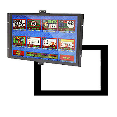 """New - 22"""" All-In-One Touchscreen LCD Display w/ Metal Bezel"""