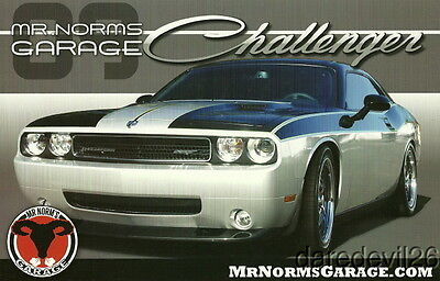 2009 Mr. Norm Dodge Challenger SEMA Show Promo info card