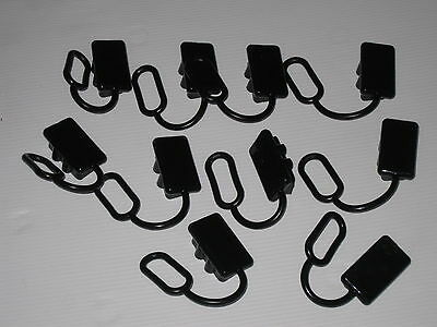 10 X  ANDERSON PLUG COVERS 50 AMP COVERS To SUIT 50amp dual battery caravan