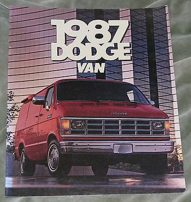 1987 Dodge Van Brochure (Usa)