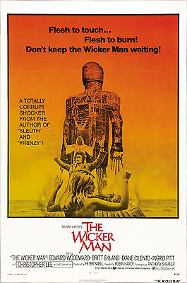 The Wicker Man - Christopher Lee - A4 Laminated Mini Poster