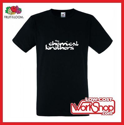 """Camiseta T-Shirt """"the Chemical Brothers"""" S-M-L-Xl-Xxl"""