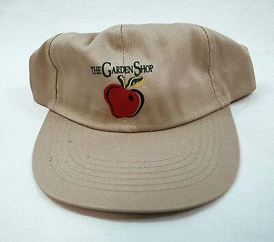 Vintage 1990's The Garden Shop Tan Khaki Hat