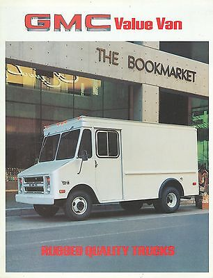 Gmc Value Van Brochure (Usa)