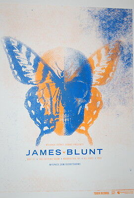 James Blunt - The Cutting Room -  May 2006 - Myspace Secret Show Poster