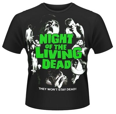 Night Of The Living Dead 'Classic Vintage Poster' T-Shirt - NEW & OFFICIAL!
