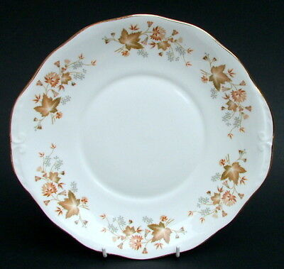 1980's Colclough Avon Lugged 6 Group Cake or Sandwich Plate 26cm Some Use Marks
