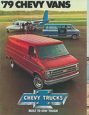 1979 Chevrolet Vans Brochure (Usa)