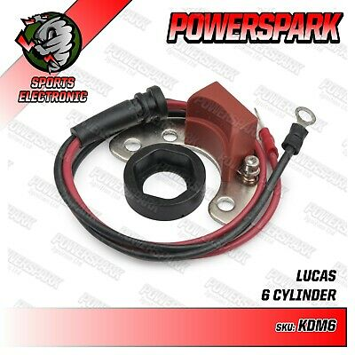 Powerspark Electronic Ignition Kit with Red Rotor Arm Ford Zephyr Zodiac DM6