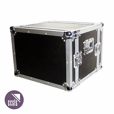 8Ru Rack Road Case With Front And Rear Lids