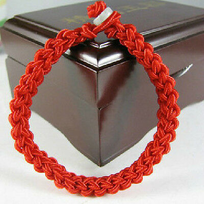 Red Cord weaving Tibetan Buddhism blessing Bracelet
